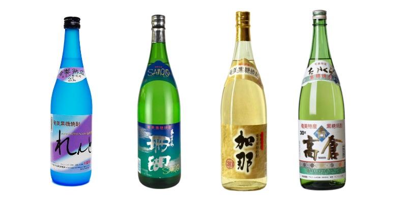 「奄美大島来たら絶対に飲むべき!黒糖焼酎のおすすめと楽しみ方」のアイキャッチ画像